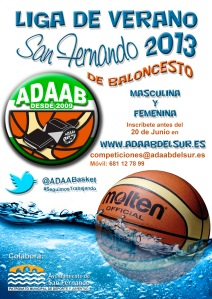 Cartel Liga Verano 2013 San Fernando
