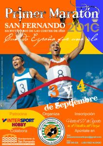 Cartel maratón 2010 San Fernando